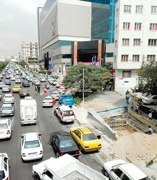 واکنش به بار ترافیکی مالها در پایتخت