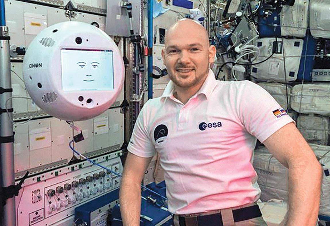 سایمون؛ روبات ایستگاه فضایی بینالمللی