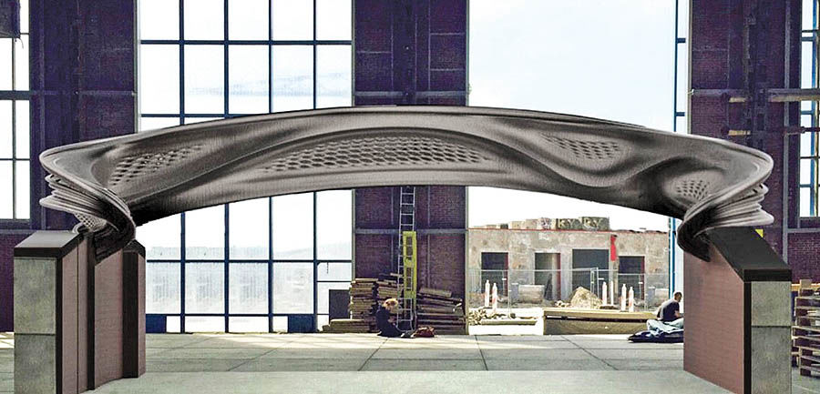 بزرگترین پل چاپ 3بعدی