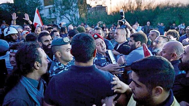 سایه جنگ داخلی بر لبنان