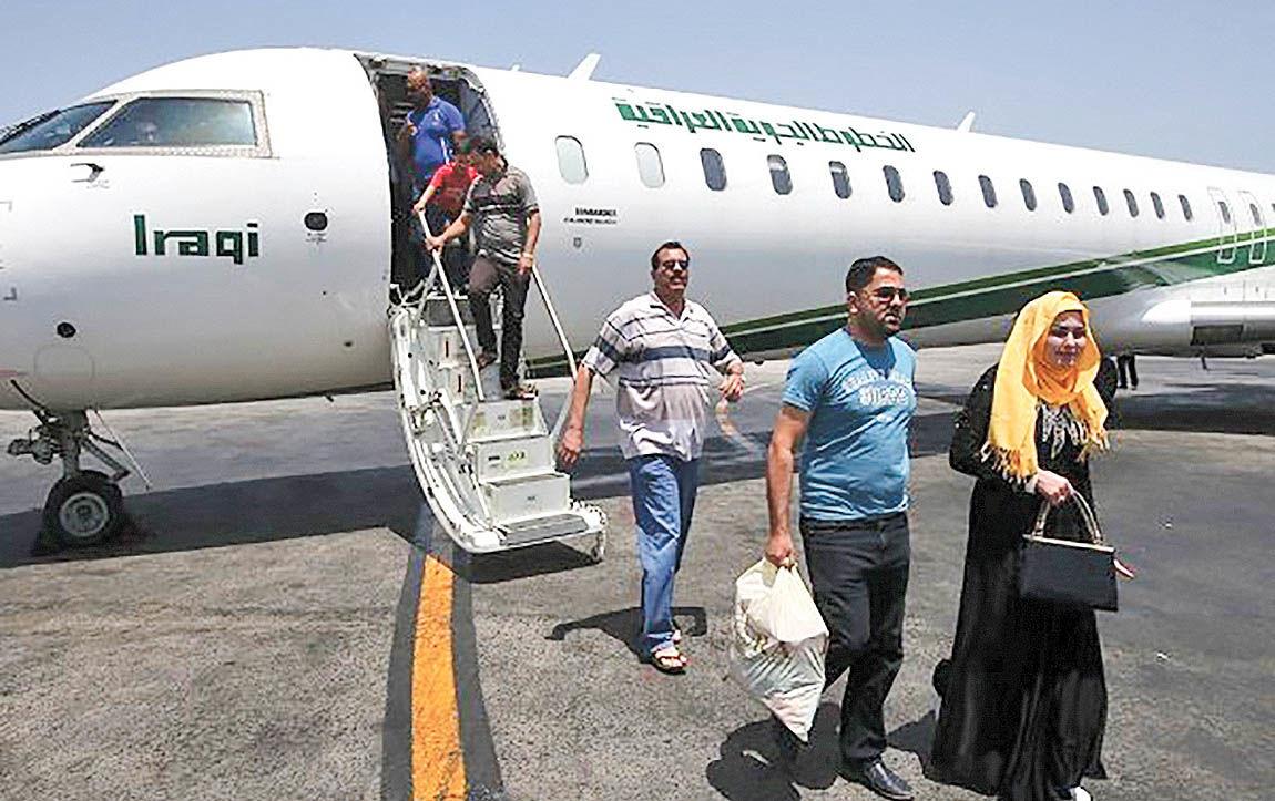 صدرنشینی عراقیها در سفرهای ورودی