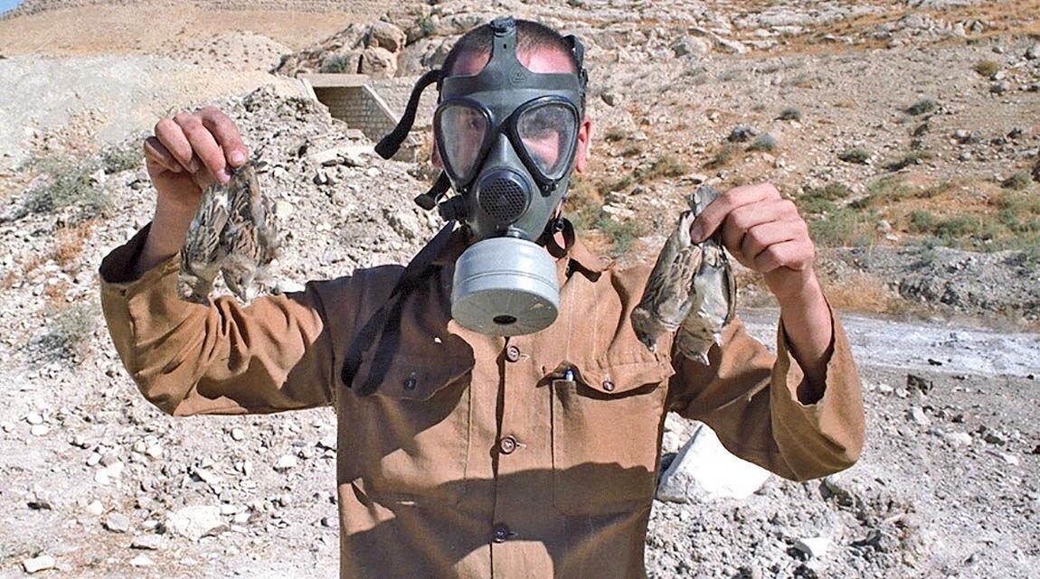 بمباران شیمیایی سومار