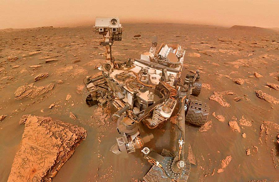 سلفی کاوشگر مریخ