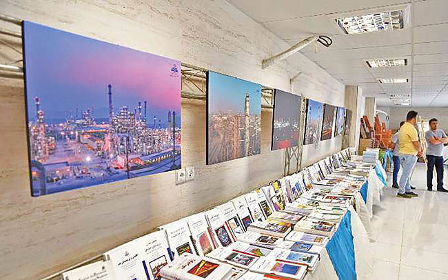 افتتاح نمایشگاه کتاب نفتستاره خلیجفارس