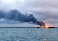 مرگ حداقل ۱۰ نفر در تصادف ۲ کشتی حمل سوخت