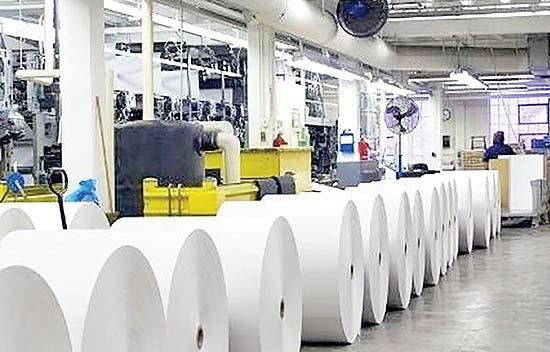 کاهش قیمت کاغذ گلاسه و مقوا