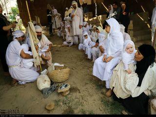 مراسم «دخرانی» صائبین مندایی