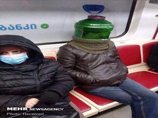 ماسک های عجیب و غریب