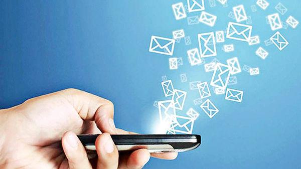 ۹۵ درصد پیامکها در ایران به زبان فارسی است