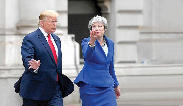 حمله شدید «ترامپ» به «می»