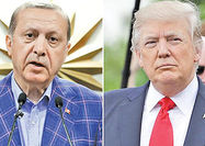پیام تبریک ترامپ به اردوغان