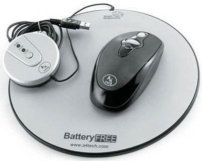 موس بیسیم بدون نیاز به باتری