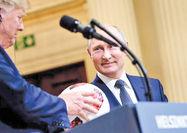 هدیه پوتین به ترامپ ابزار جاسوسی است؟