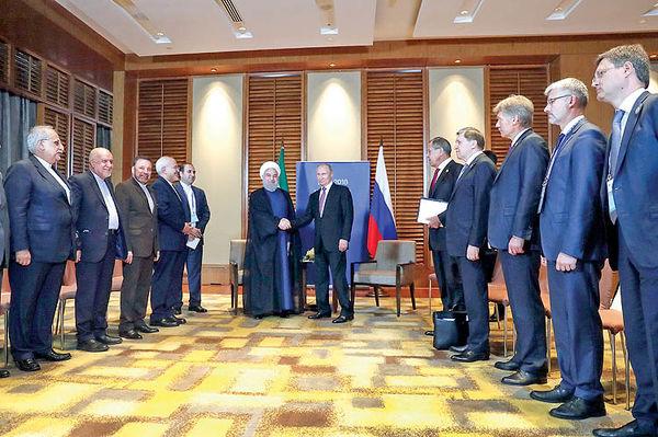 4 محور مذاکره پوتین و روحانی