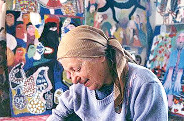 نمایش آثاری از مکرمه قنبری در گالری کاما