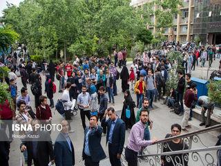 حضور ظریف در دانشگاه امیر کبیر