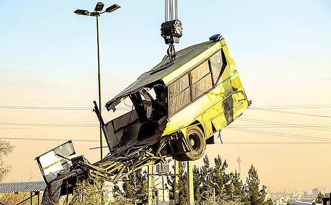 تایید نقص فنی اتوبوس مرگ