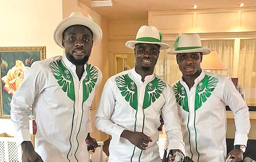 لباس جالب بازیکنان نیجریه سوژه شد