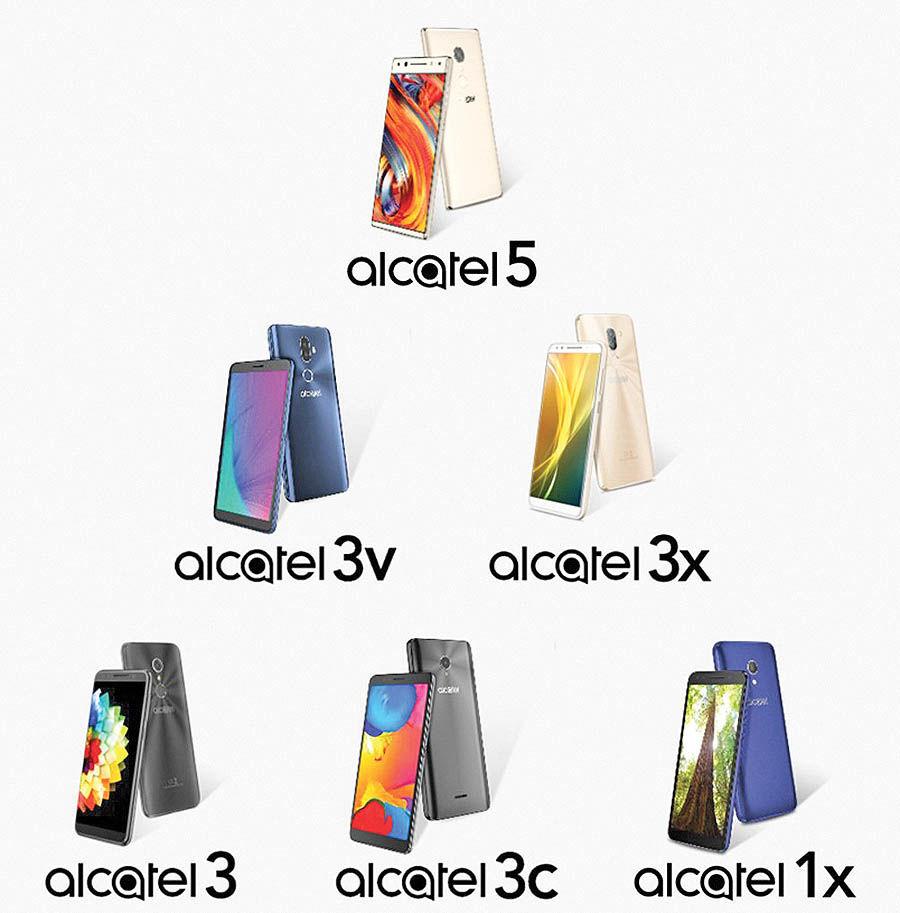 آلکاتل 6 موبایل جدید در راه دارد