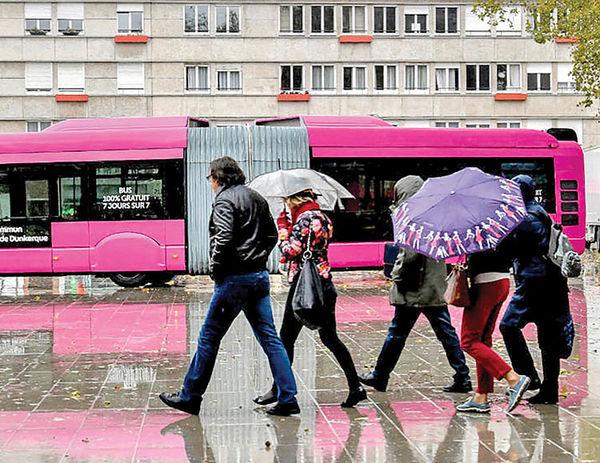 حملونقل مجانی برای فرانسویها