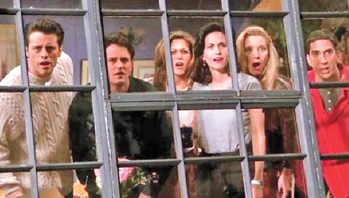برپایی جشن 25 سالگی سریال «فرندز»