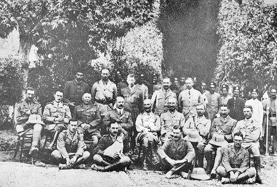 استقرار نیروهای انگلیس در جنوب