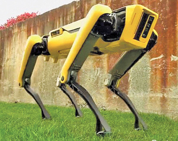 رونمایی از یکی از کمصداترین روباتها