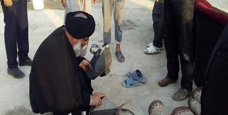 جوشکاری امام جمعه اهواز در مرز شلمچه