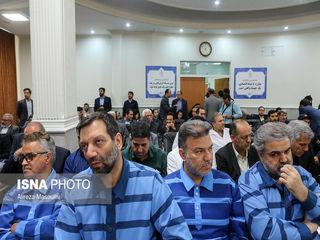 اولین جلسه رسیدگی به اتهامات متهمین پرونده موسوم به شرکت پدیده