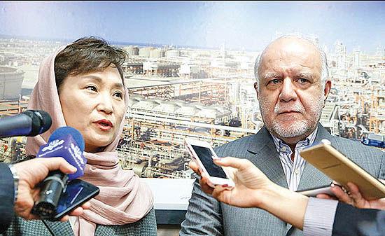 سه پیام دیدار نفتی ایران و کره