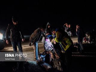 تصادف اتوبوس مسافری در محور تهران ارومیه