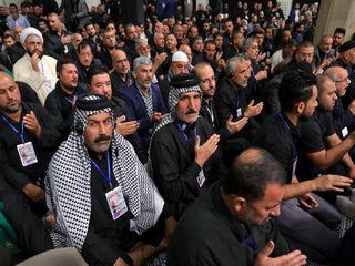 دیدار جمعی از موکبداران عراقی با رهبر انقلاب