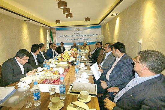 بیمه ایران معین 414 ریال به ازای هر سهم سود شناسایی کرد