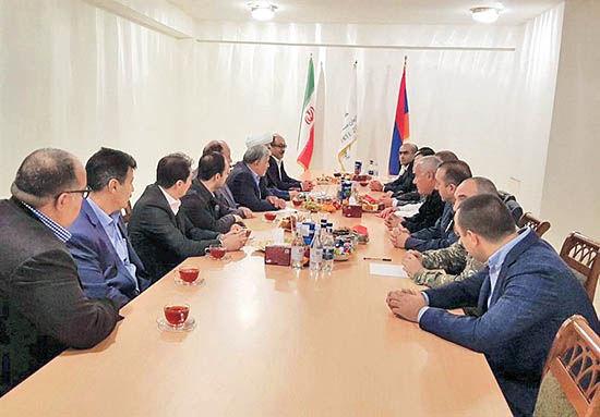 تاسیس دفتر مشترک همکاری ایران و ارمنستان