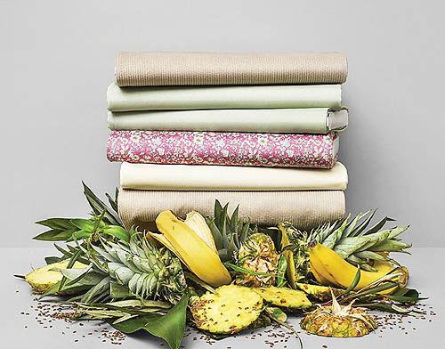 تحولی در صنعت پوشاک با ضایعات مواد غذایی