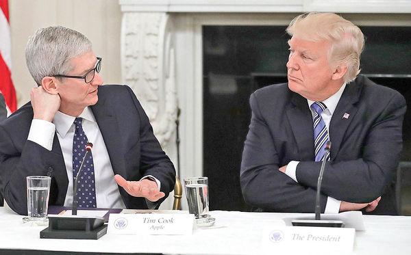 اپل در برابر ترامپ!