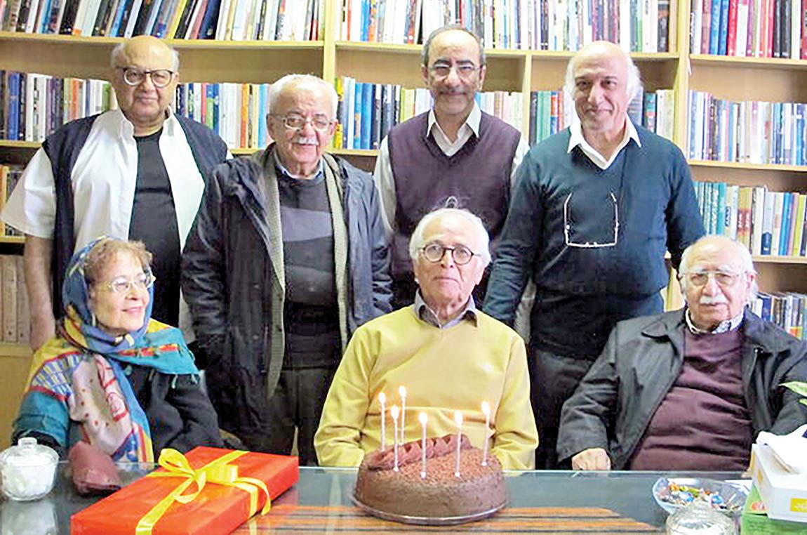 برگزاری جشن هفتادوششمین سالروز تولد دکتر ضیاء موحد