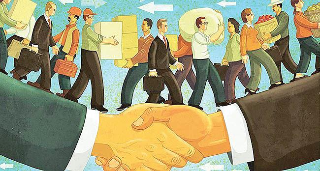 « نظم اقتصاد لیبرال» بر لبهتیغ