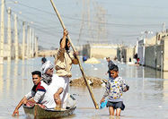 ورود داوطلبانه حشدالشعبی برای کمک به سیلزدگان