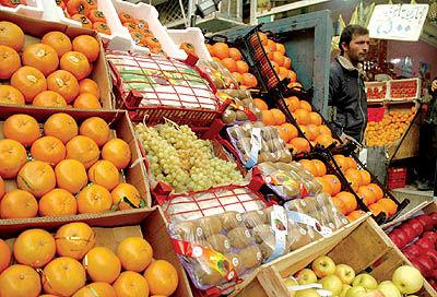 کاهش 30درصدی صادرات میوه