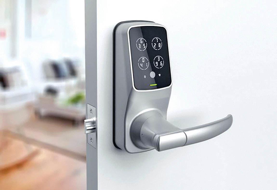 افزایش امنیت خانه با قفل هوشمند الگوریتمی