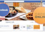 امکان سفارش غذا در فیسبوک