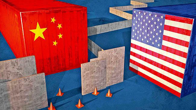 شکایت چین و ضرر 10 ساله آمریکا از جنگ تجاری
