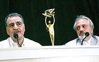 نمایش علی سنتوری در جشن سینمای ایران