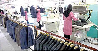 تامین 70 درصد نیاز پوشاک از داخل