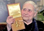 حراج مدال دوریس لسینگ به قیمت ۲۵۰ هزار پوند