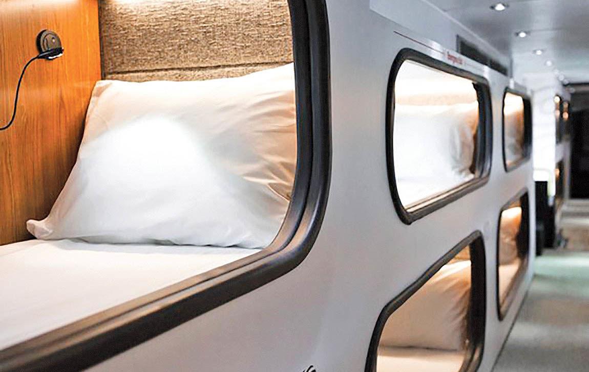 هتل اتوبوس، ایدهای هوشمندانه در پس تکنولوژی
