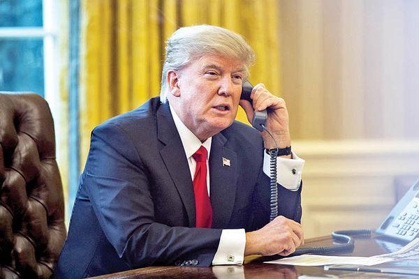 ترامپ شماره تلفن داد