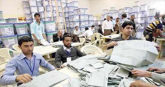 رکورد مشارکت پایین در انتخابات عراق
