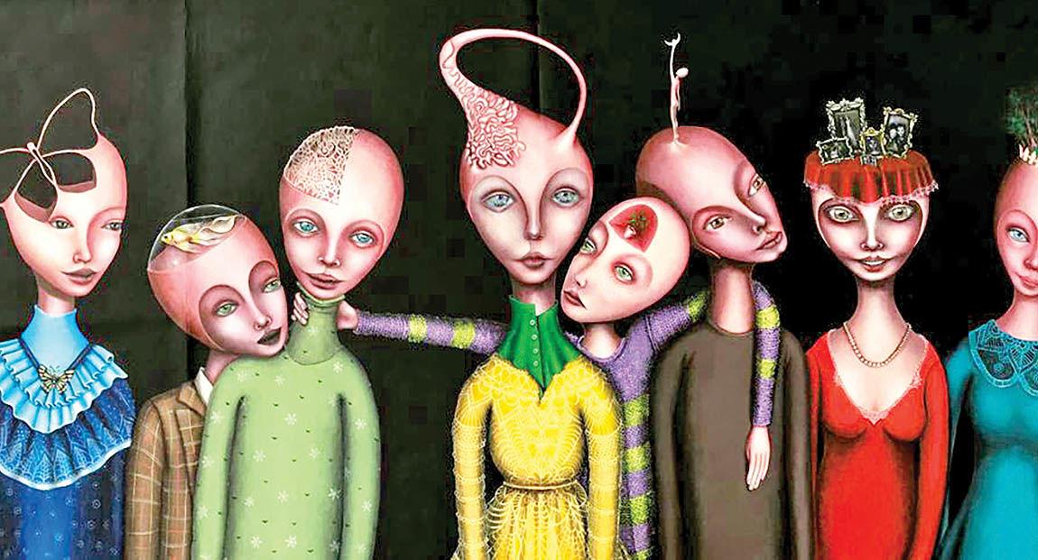 انتخاب نقاش ایرانی بهعنوان  هنرمند برجسته «گالا آرت»